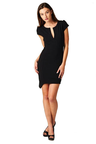 Sexy Women Party Evening Cocktail Bodycon Mini Short Sleeve Club Dress