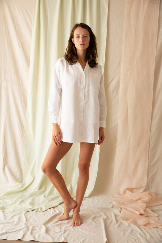 Sleep Shirt, Ivory