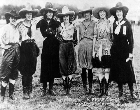 Cowgirls With Prairie Rose