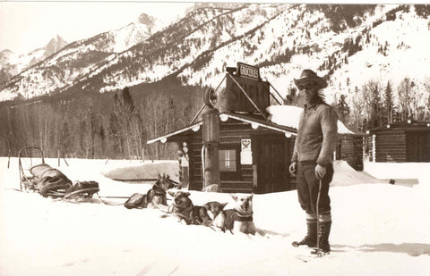 Jack Kranenberg with Dog Sled and Team