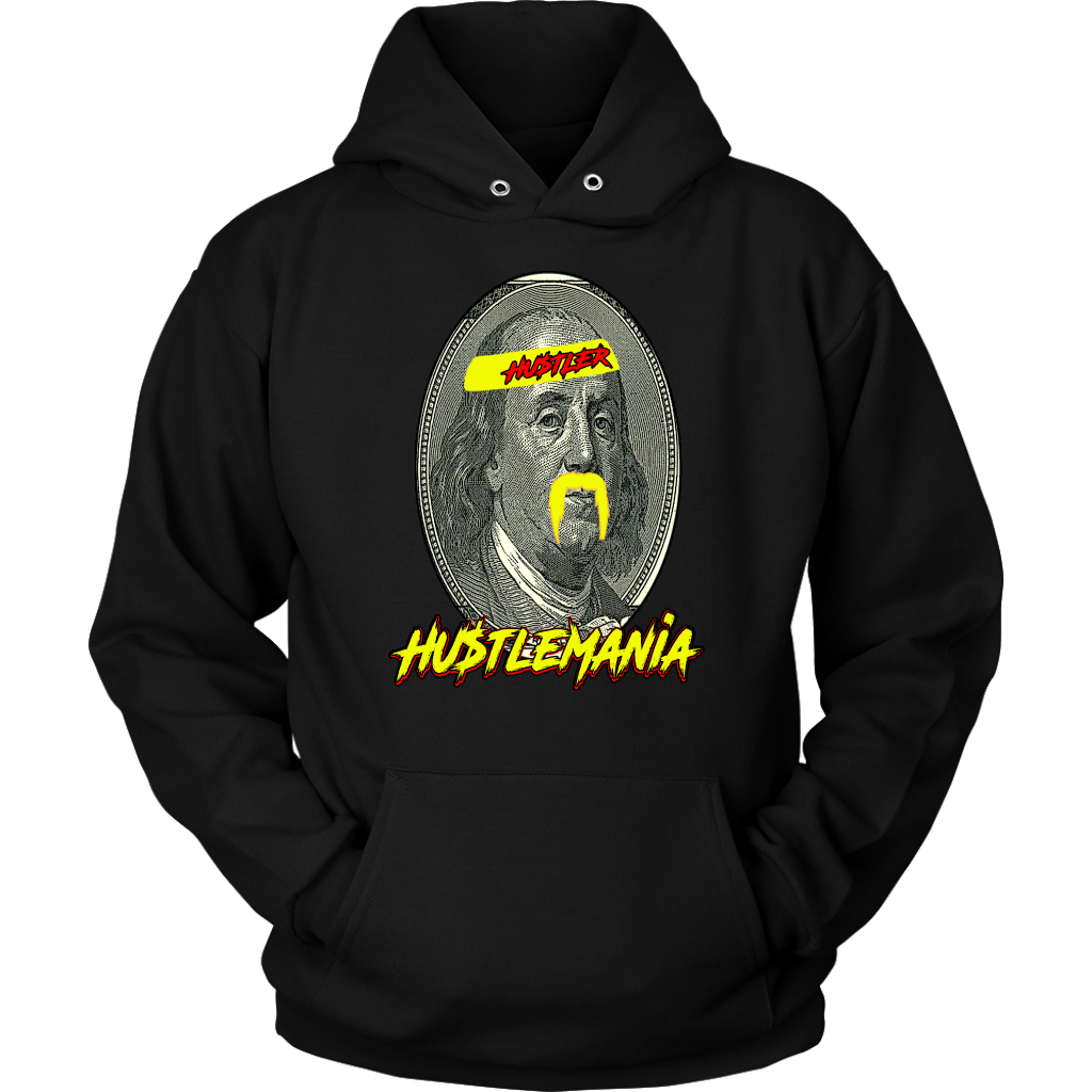 Hustlemania Brother by Hustler Horde Apparel Hoodie