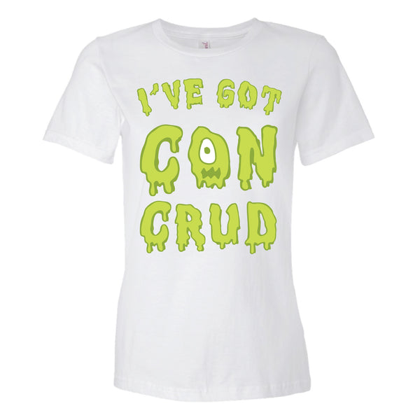 Con Crud T-shirt & Game Ladies - Analog Gamer