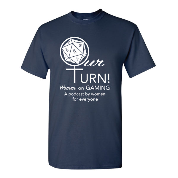 Our Turn! Navy Logo - Analog Gamer