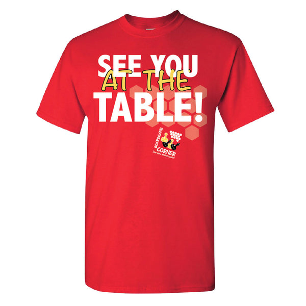 See You At The Table Tall - Analog Gamer