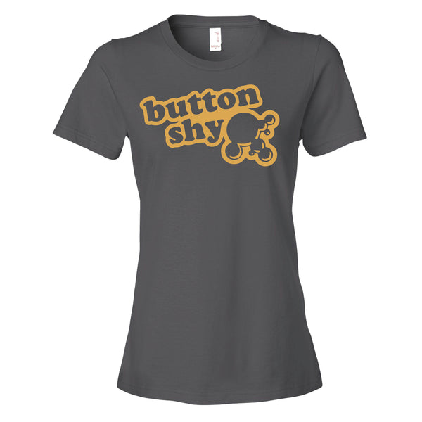 Button Shy Logo Ladies - Analog Gamer