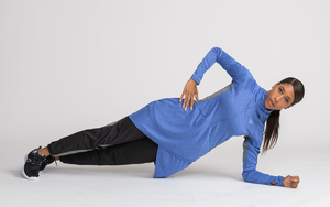 performance modest workout top