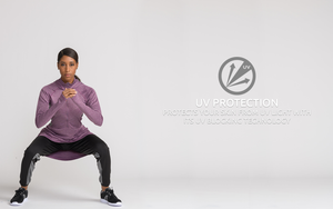 UV protection modest gym wear