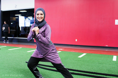 active lifestyle modest fitness