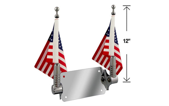 P/N 2026-2 Double Billet Flag Pole for 6