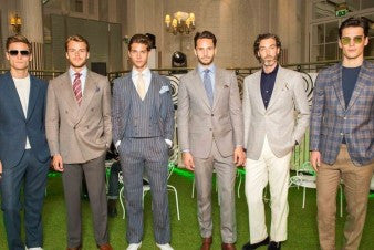 Day 3 - London Collections: Men SS17 Chester Barrie
