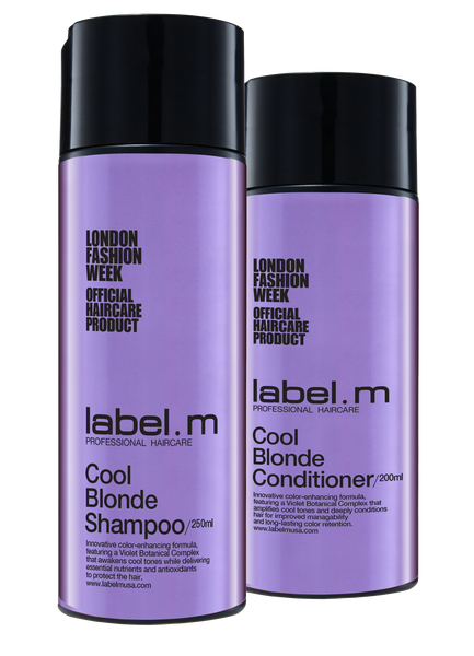 Modern Salon Leaks Latest label.m Launch, Cool Blonde Shampoo & Conditioner!