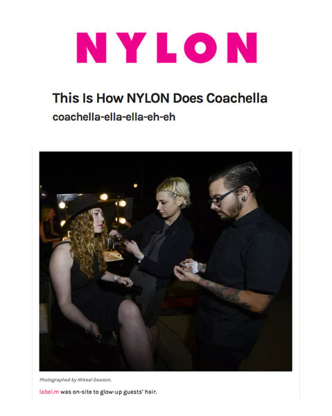Learn How Label.m and Nylon Do Indio's Hottest Music Festival