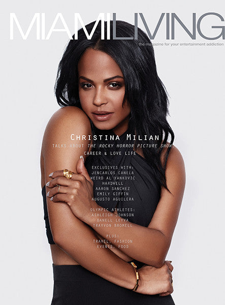 Christina Milian Styled By Netty Jordan for label.m USA in Miami Living