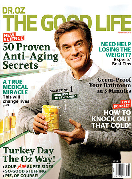 Learn How To Go From Brittle to Bouncy with label.m Therapy Rejuvenating Oil in Dr. Oz's The Good Life