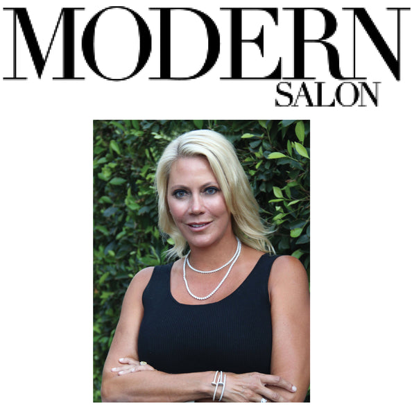 Modern Salon Shares Label.m Story with CEO of Product Development, Sheree Ladove-Funsch