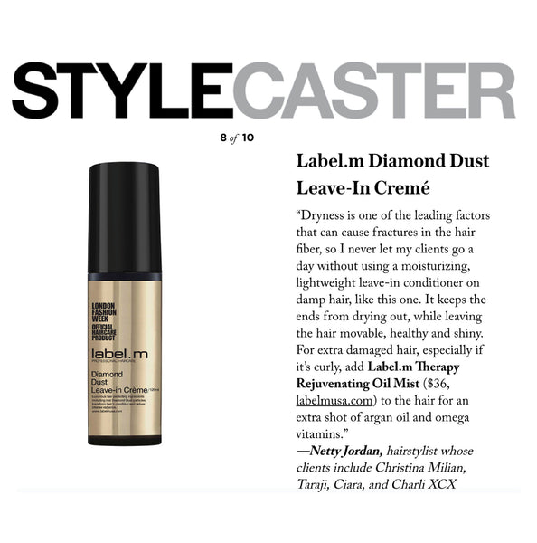 StyleCaster Features Diamond Dust & Therapy Oil For Split End Savers