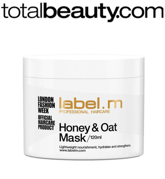 Total Beauty Highlights label.m Honey & Oat Mask As Beauty Routine Must-Have