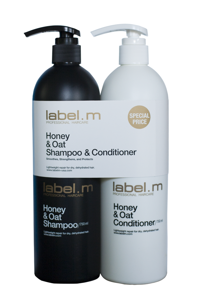 Honey & Oat Twins Shampoo and Conditioner