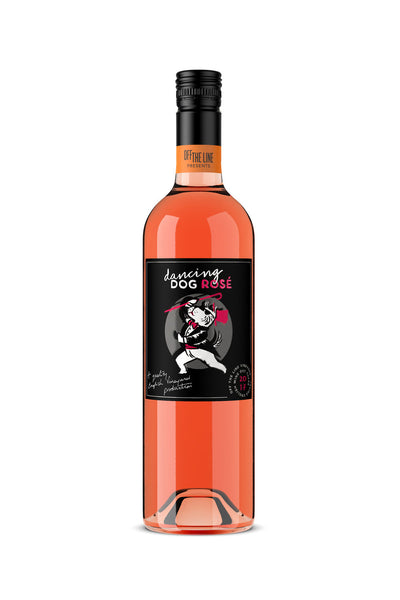 Off The Line Vineyard - Dancing Dog Rosé 2017 - Case of 6 - PremiumEnglishWines