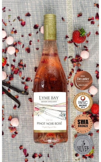 Lyme Bay - Pinot Noir Rosé - Case of 6 - PremiumEnglishWines