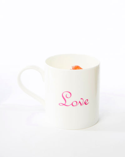 'Love and Lips' Mug