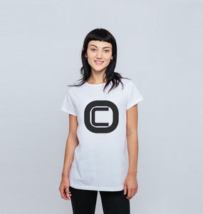 Womenswear Outlandish Creations Logo T-shirt