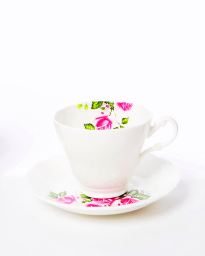 Fine Bone China 'Girlfriend' Tea Cup & Saucer
