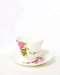 Girlfriend Tea Cup & Saucer
