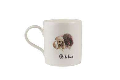 Bitches Mug - Poodles