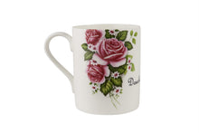 Douchebag Mug with pink rose decal