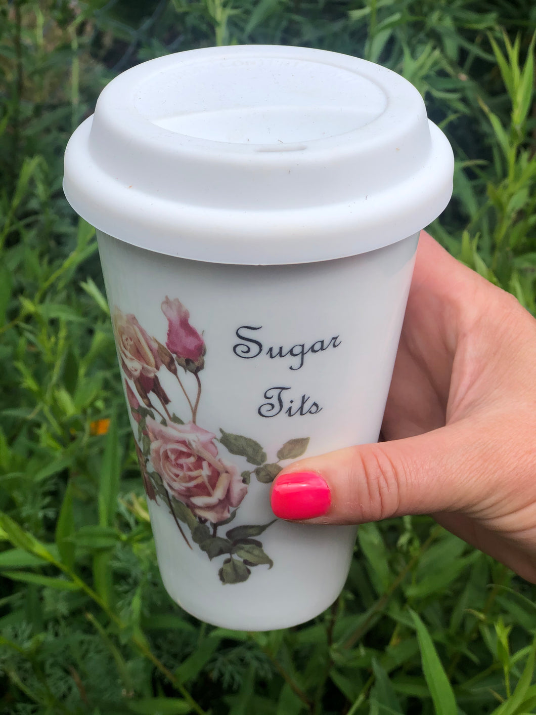 Sugar Tits Travel Mug
