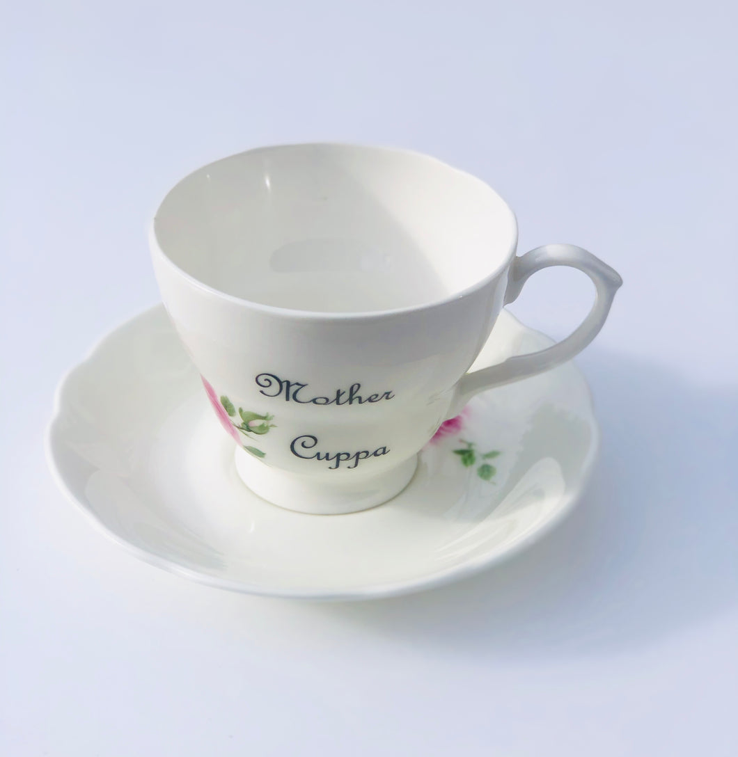 Mother Cuppa Tea Cup & Saucer