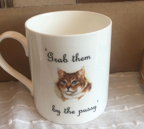 Grab them by the Pussy mug
