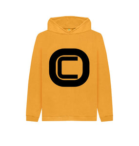 Mustard Kids Outlandish Creations Logo Hoodie