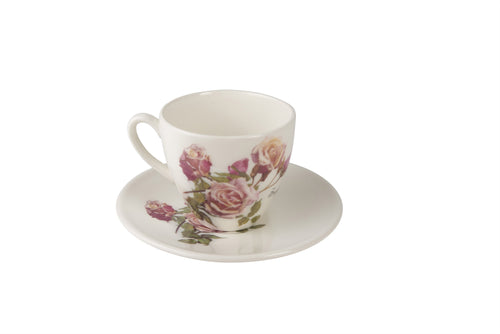 Sugar Lips Tea Cup & Saucer
