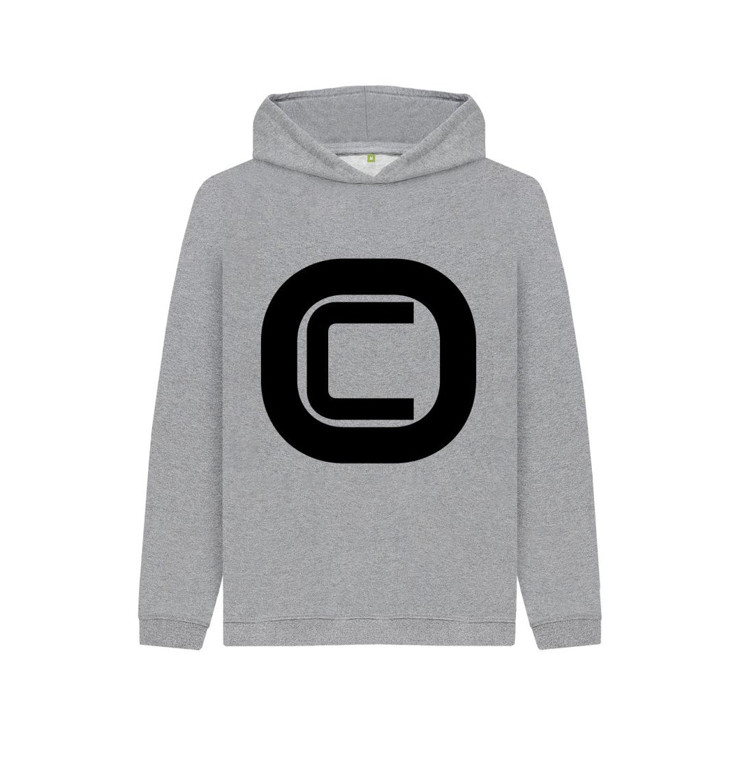 Athletic Grey Kids Outlandish Creations Logo Hoodie