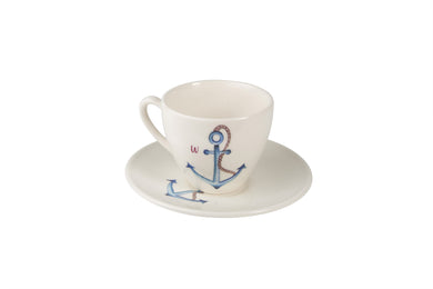 Wanchor Tea Cup and Saucer