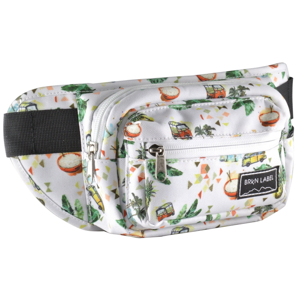 This is a graphic of Sly Brkn Label Fanny Pack