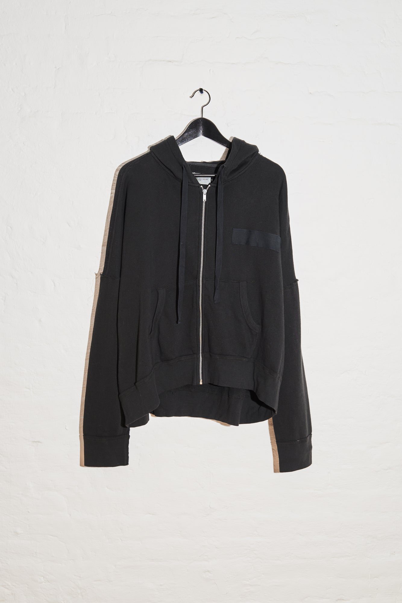 Civilian Zip Up Hoodie - Washed Black