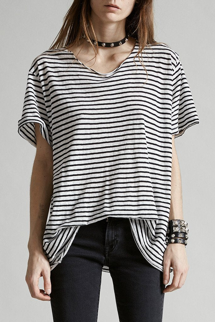 Striped rosie t