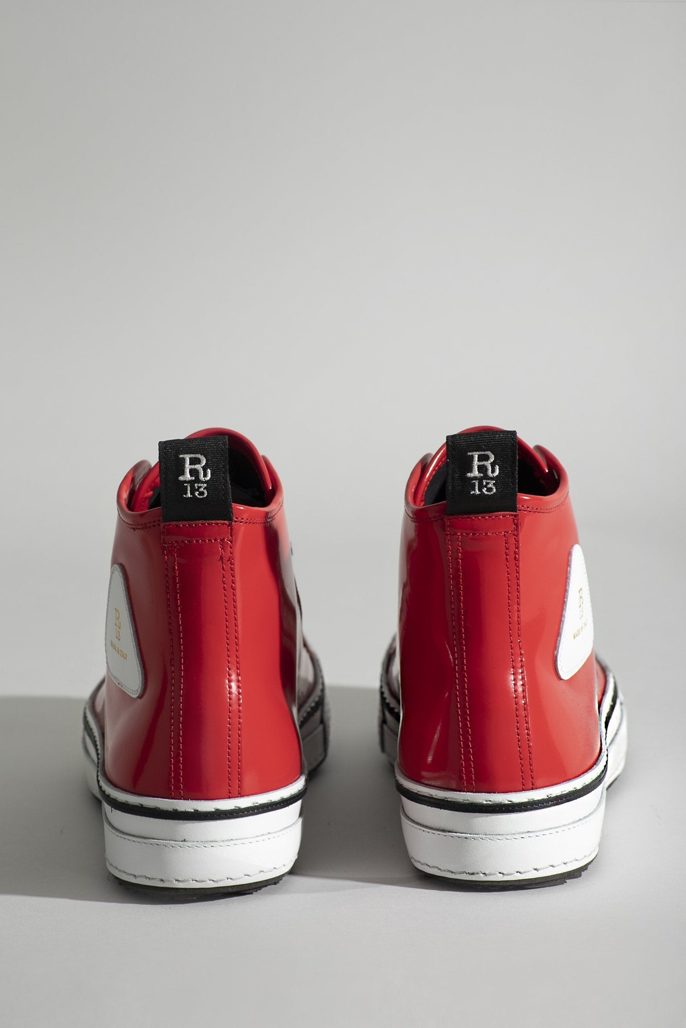High Top Sneakers - Rosso 544