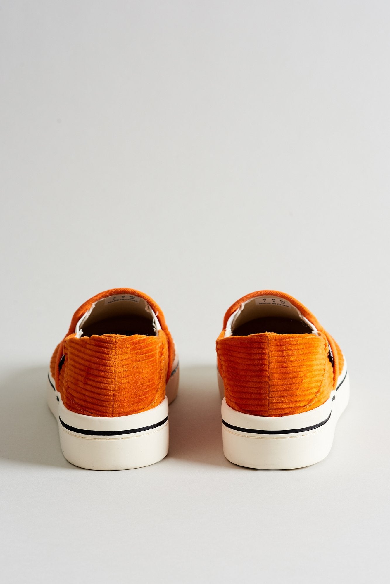 Slip On Sneaker– Orange