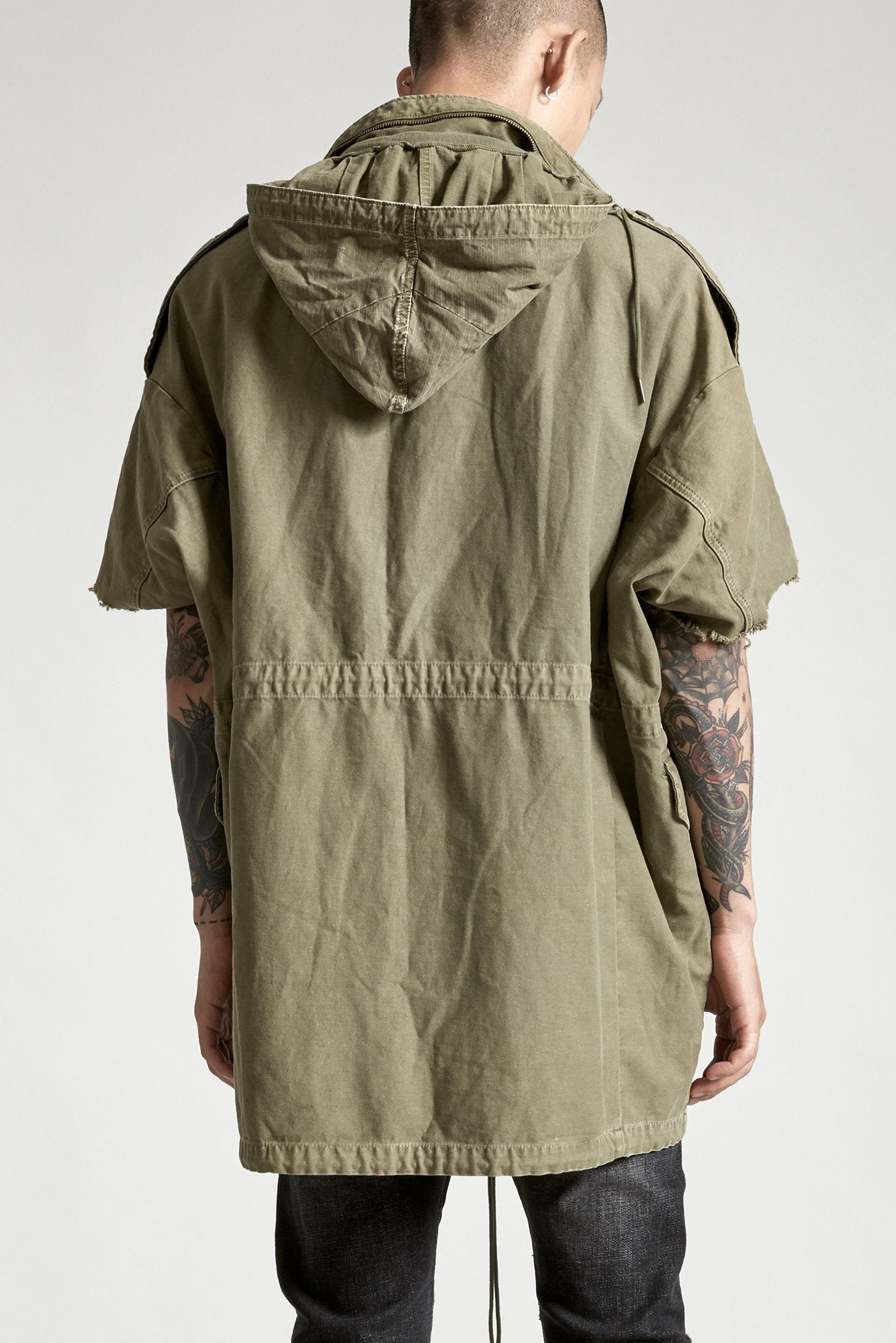 Oversized Cut Off M65 - Olive