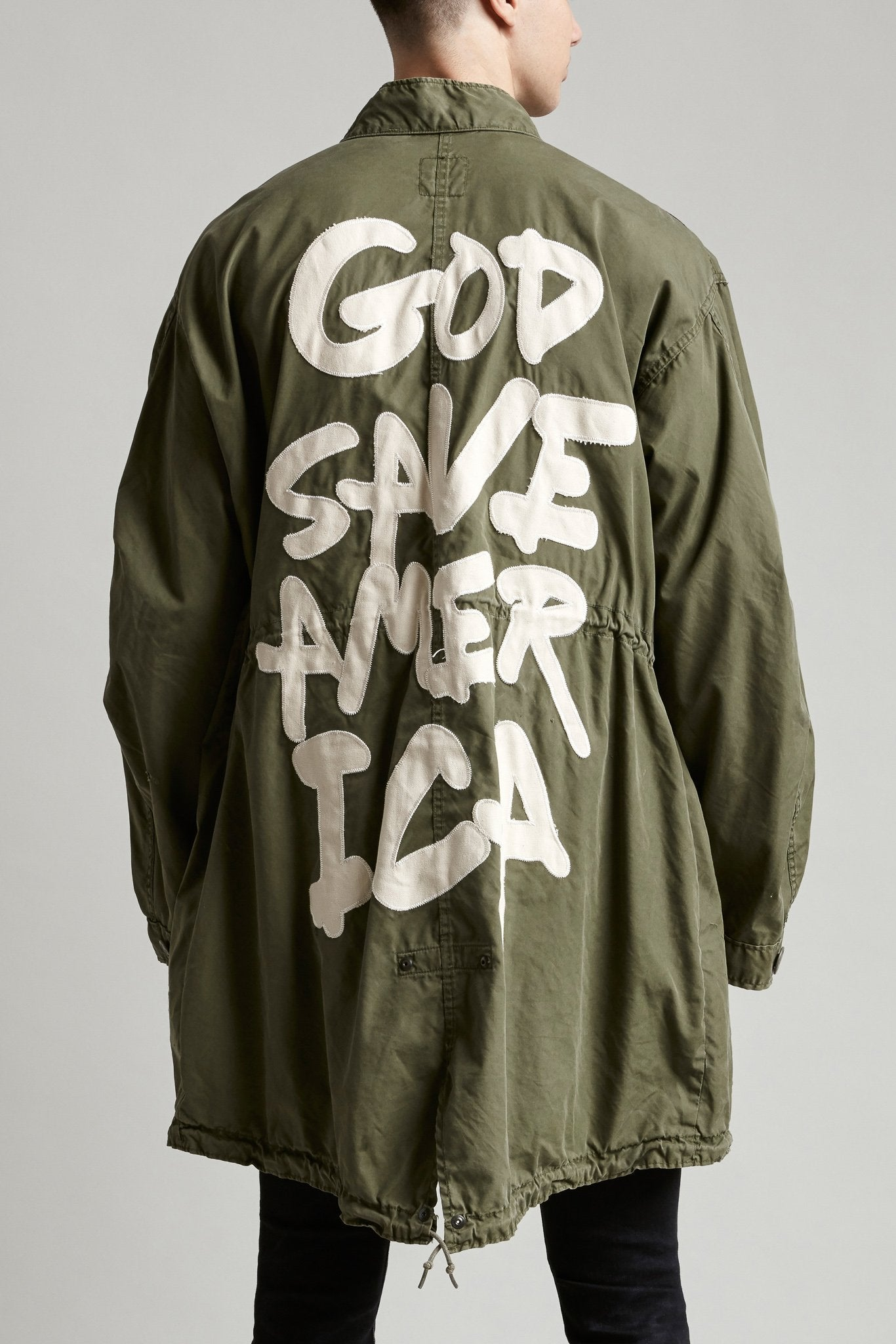God Save America Fishtail Coat