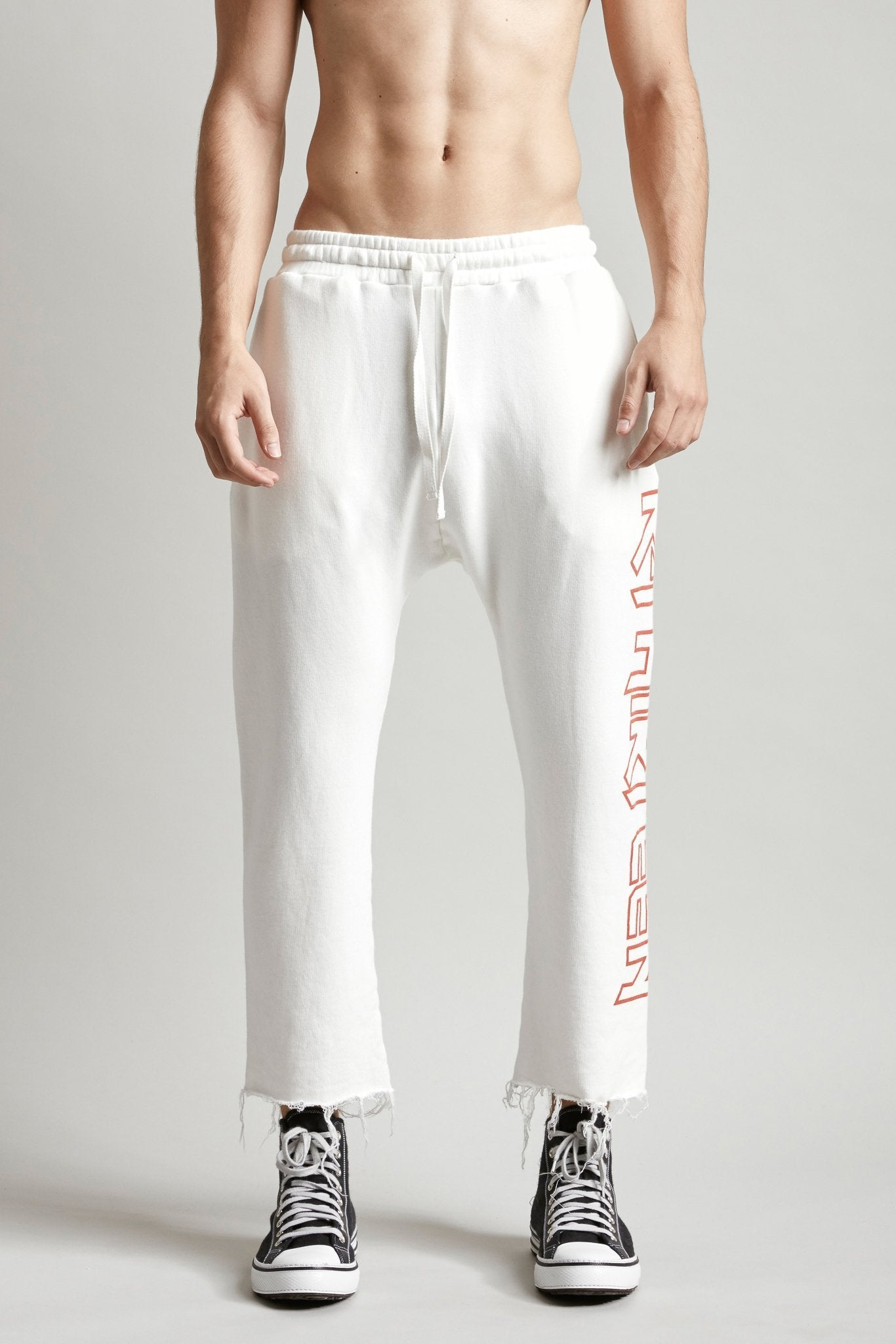RTHIRTEEN Sweatpants - White