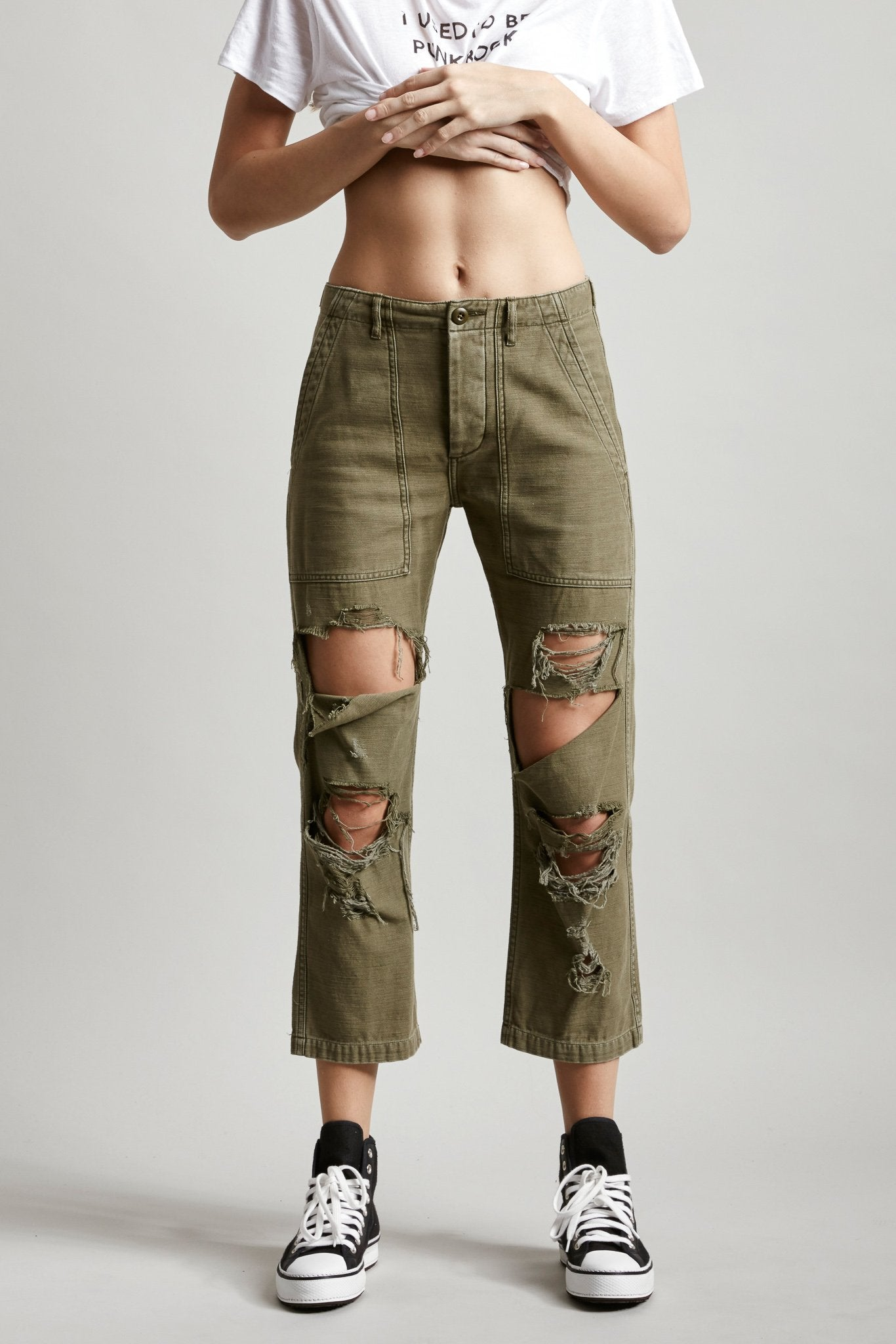 Bowie Utility Pant - Olive
