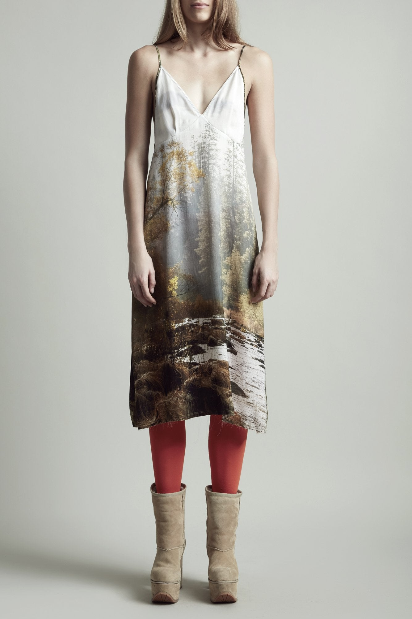 Christine Dress - Forest