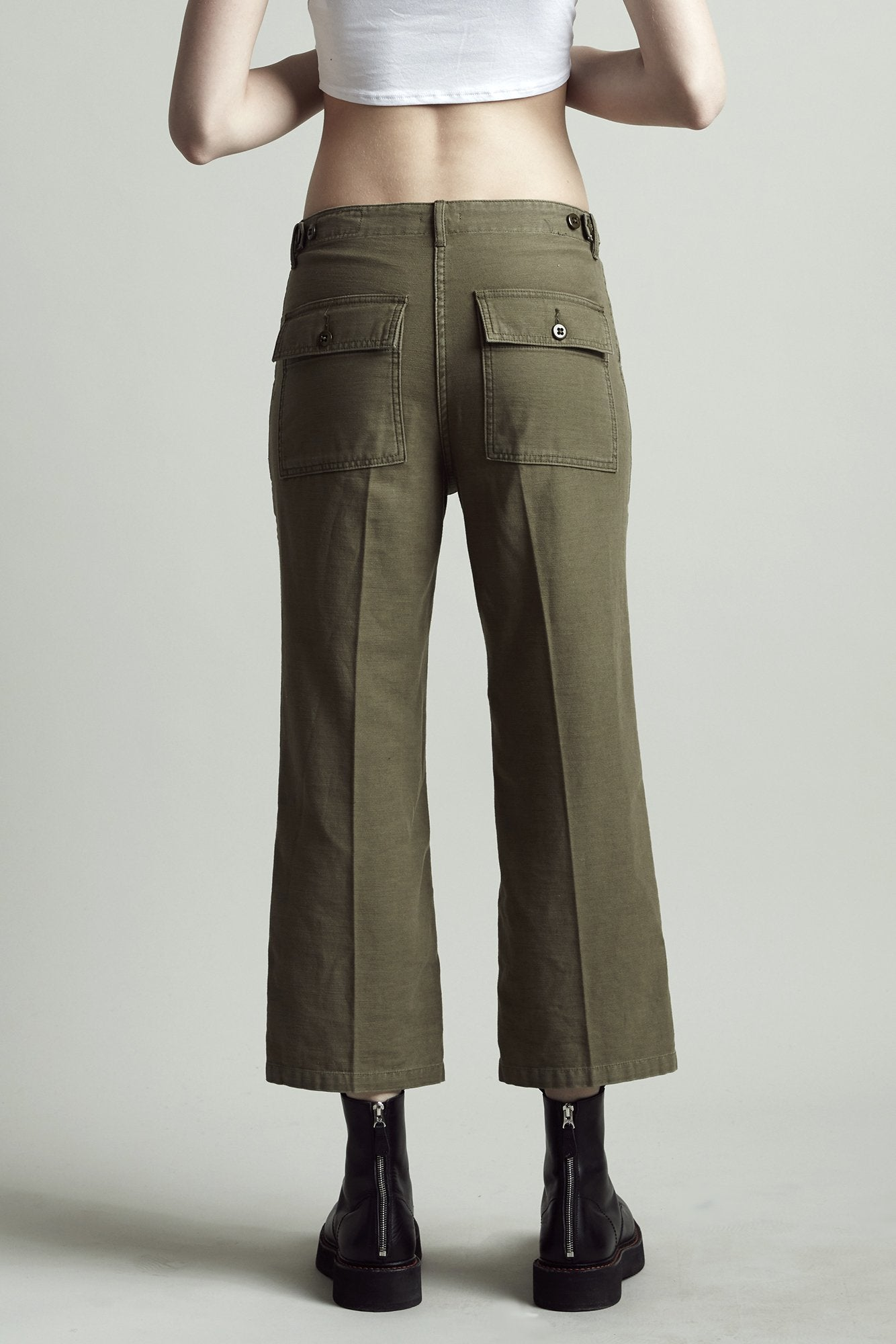 Straight Utility Pants – Fatigue Olive