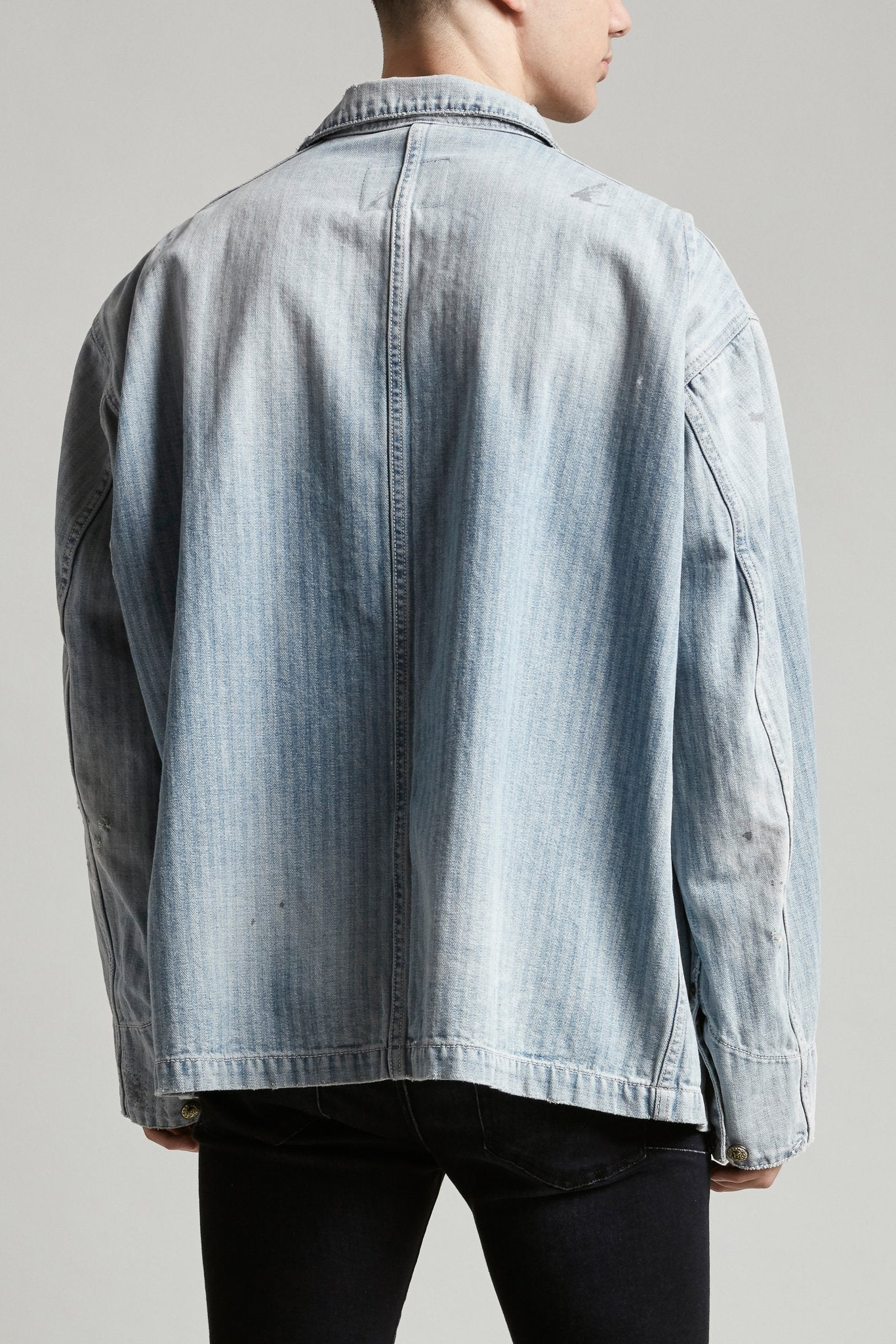 Evelyn Jacket - Burton Herringbone
