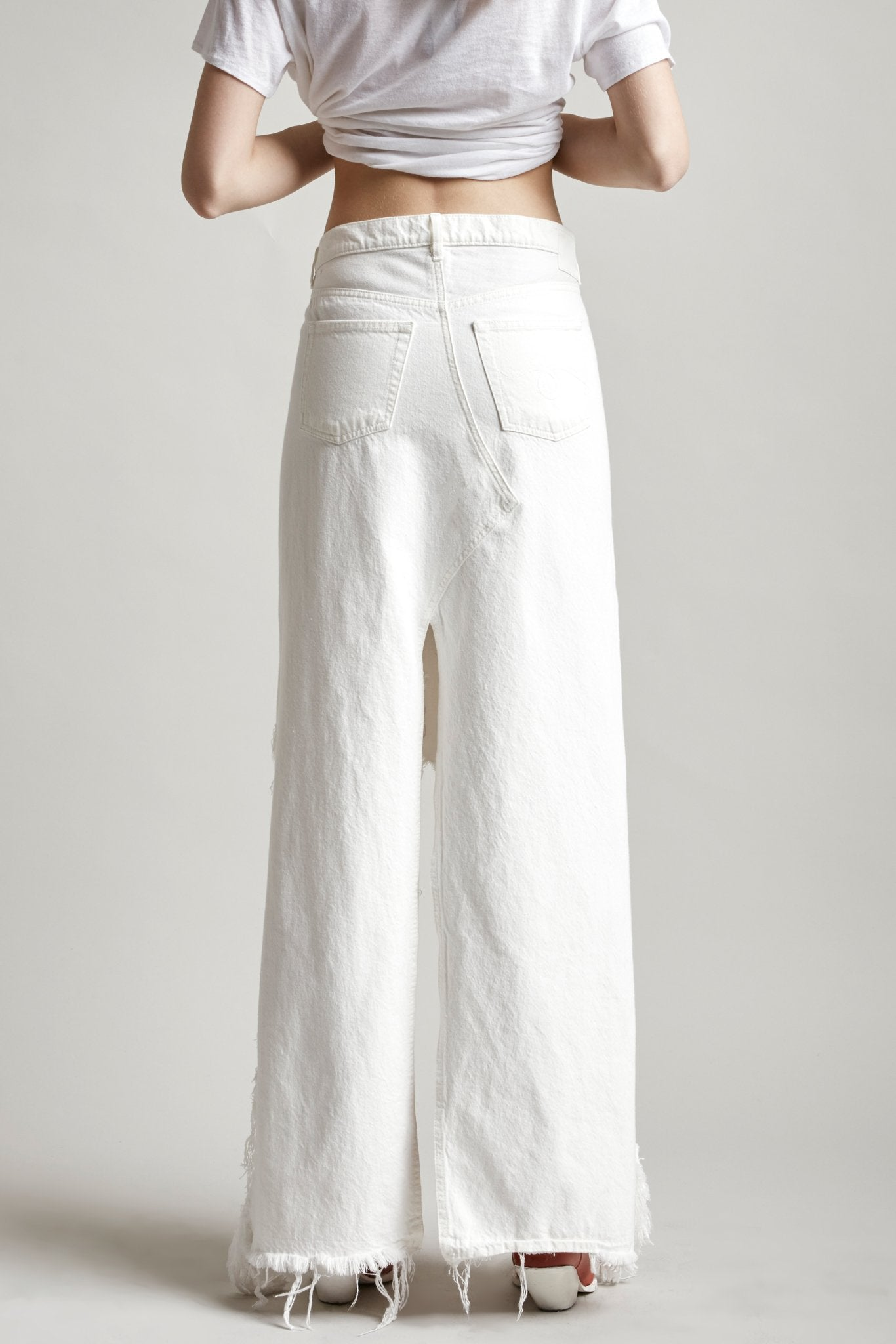 Harrow Denim Skirt (Long Skirt) - Willie White
